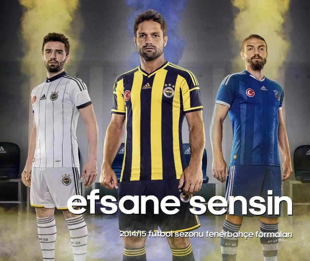 Nuevas camisetas del Fenerbahce | Foto Web Oficial