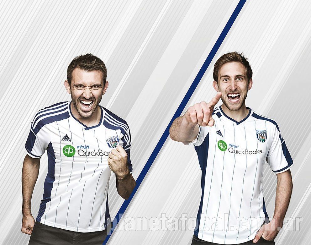 Camiseta titula del West Bromwich |Foto Web Oficial