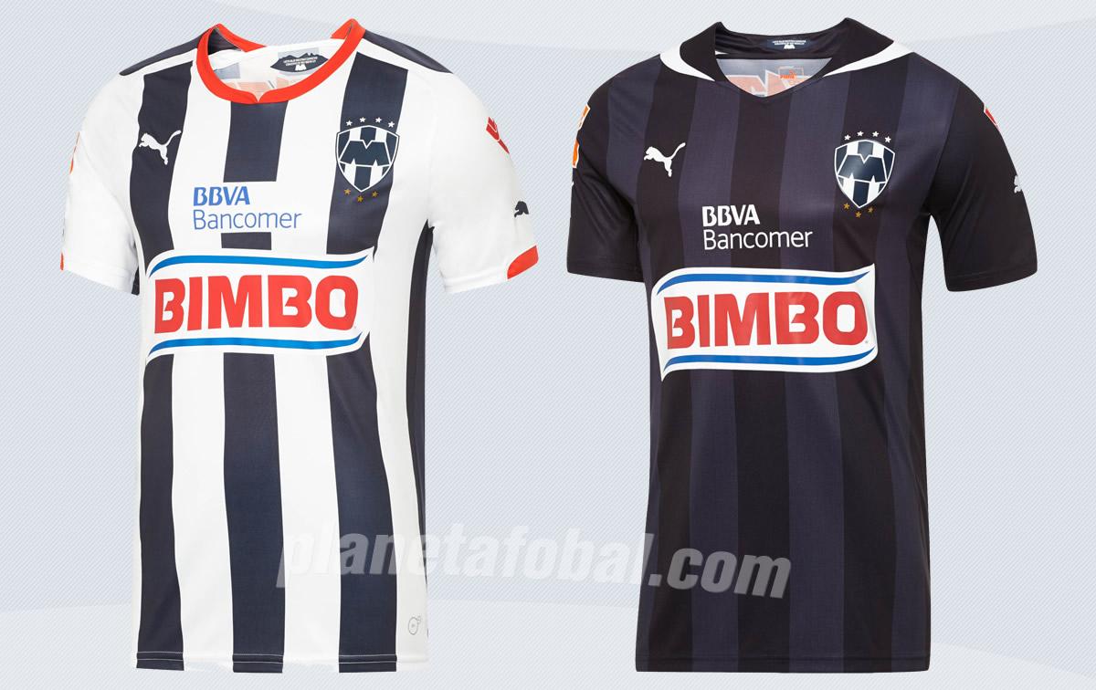 Las dos camisetas del Monterrey | Imágenes Puma