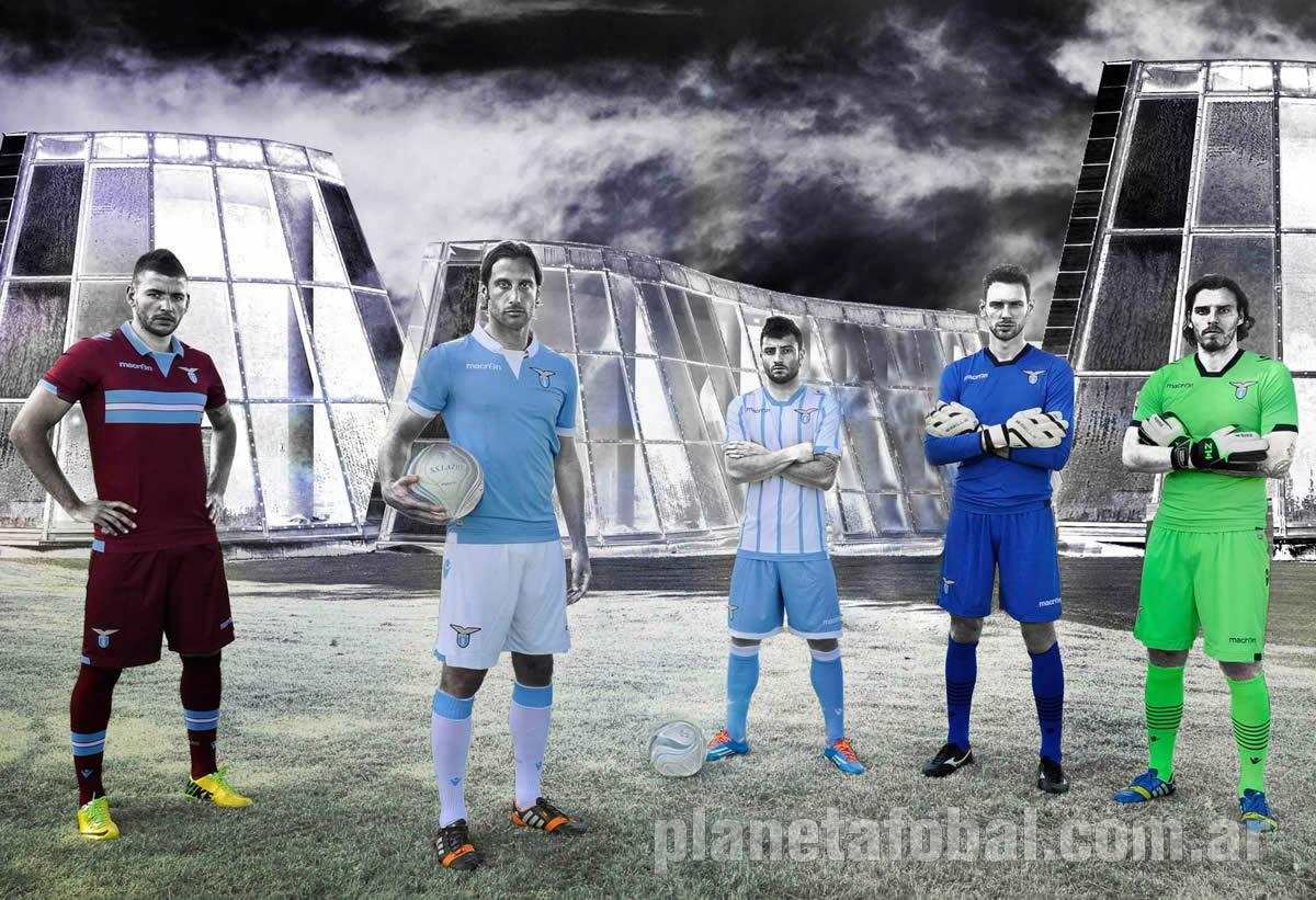 Nuevas camisetas de la Lazio | Foto Macron