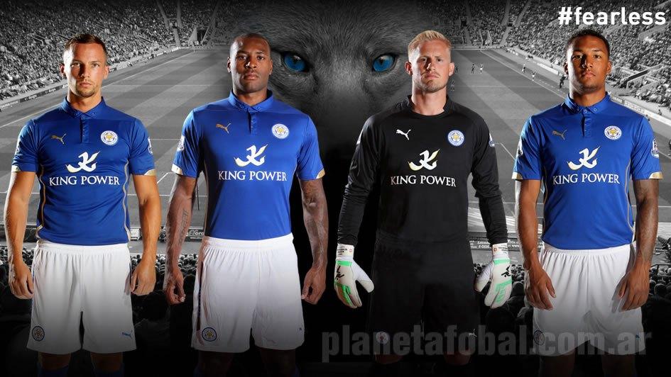 La nueva casaca del Leicester City | Foto Web Oficial