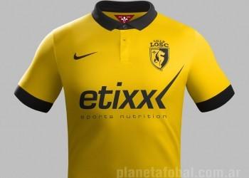 Nueva camiseta suplente de Lille para 2014/2015 | Foto Nike