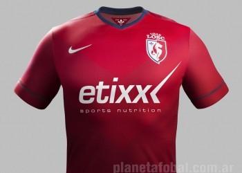 Nueva camiseta titular de Lille para 2014/2015 | Foto Nike