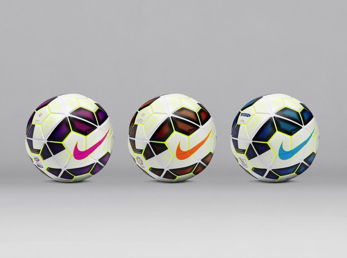 Los balones para las principales liga europeas | Foto Nike