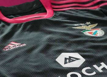 Así luce la nueva camiseta suplente de Benfica   Foto Mais Futebol