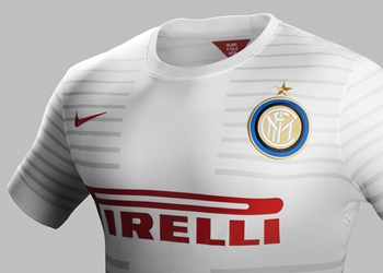 Nueva camiseta suplente del Inter para 2014/2015 | Foto Nike