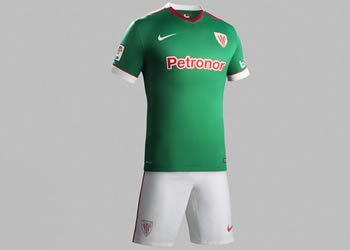 Camiseta suplente de Athletic Club para 2014/2015 | Foto Nike