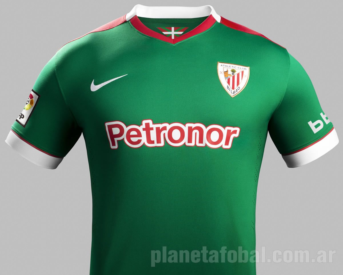 6f957eb60d0e7 Camiseta suplente de Athletic Club para 2014 2015