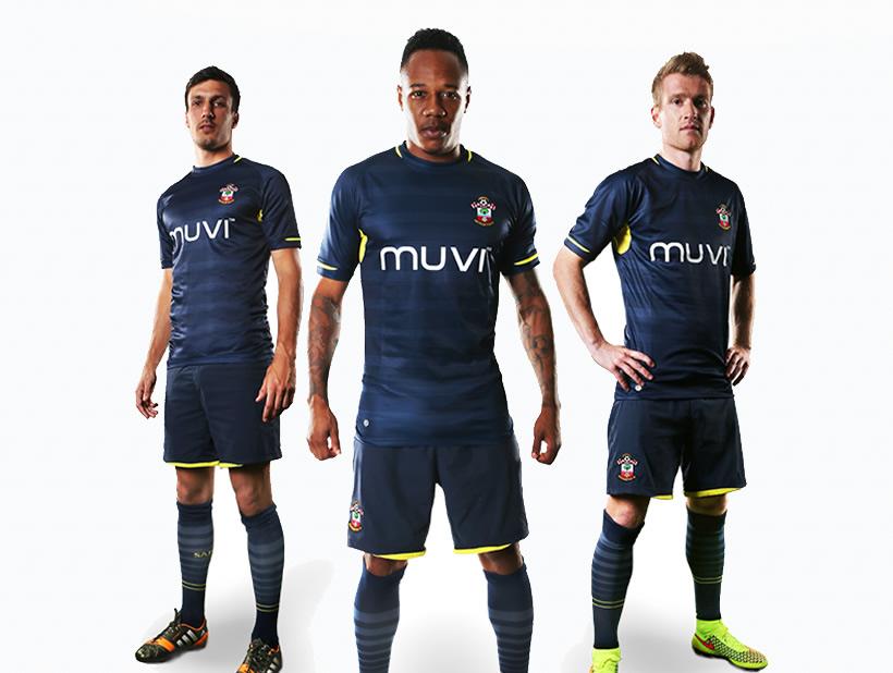 Southampton presentó su nueva camiseta suplente | Foto web oficial