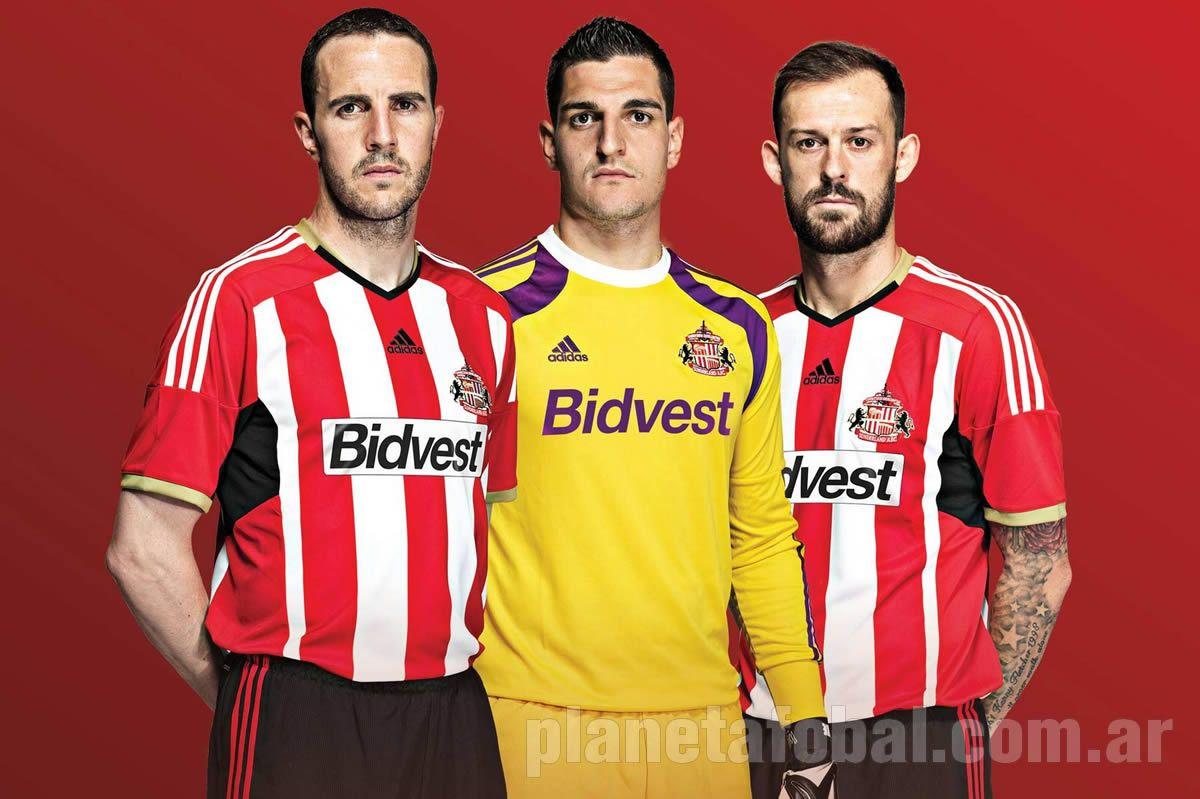 Sunderland presentó su nueva camiseta titular Adidas | Foto web oficial