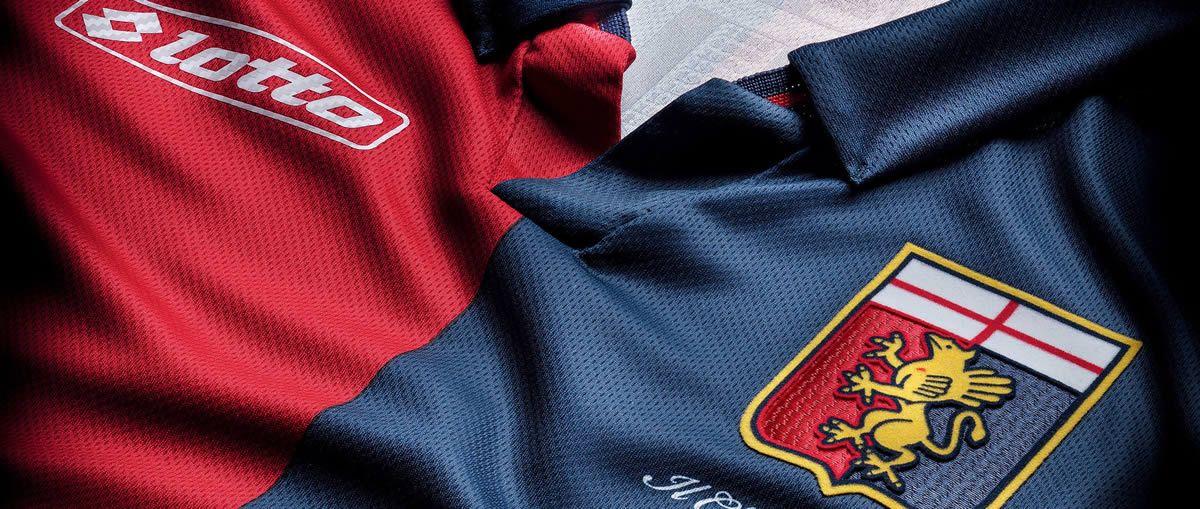 Genoa presentó sus nuevas camisetas Lotto | Foto web oficial