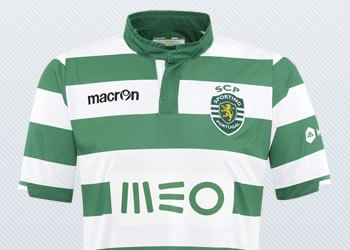 Camiseta titular del Sporting Lisboa para 2014/2015 | Foto Macron
