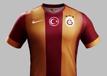 Nueva camiseta titular de Galatasaray | Foto Nike