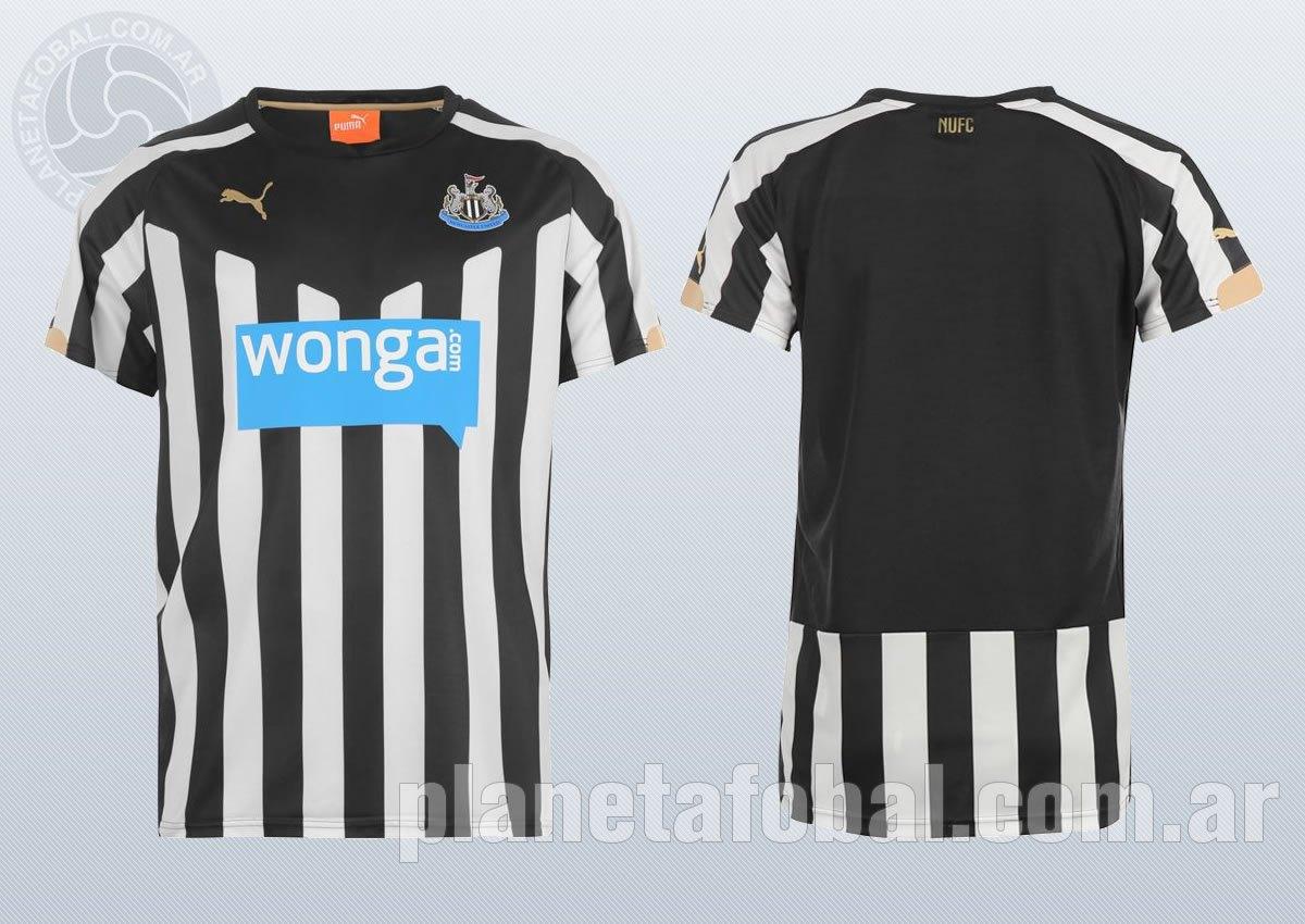 Así luce la nueva camiseta titular de Newcastle para 2014/2015 | Imagenes web oficial