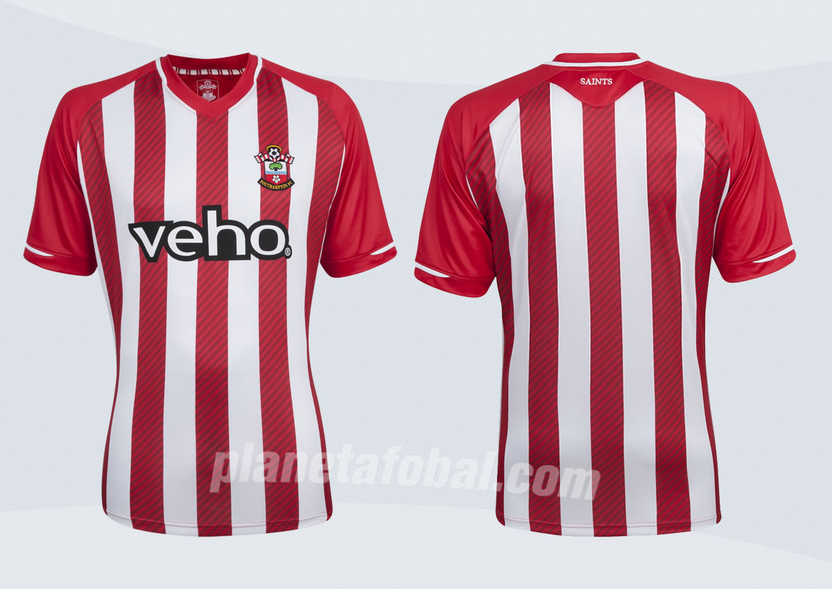 Así luce la nueva camiseta del Southampton para 2014/2015 | Foto web oficial