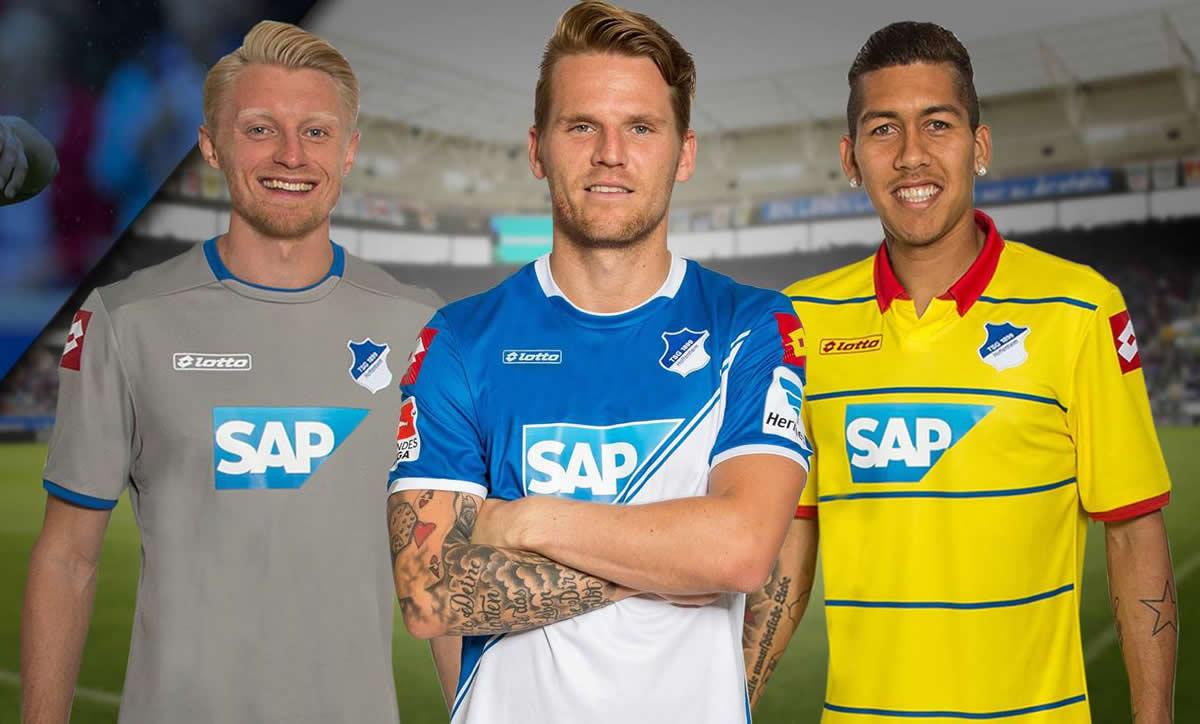 Así lucen las nuevas camisetas Lotto de Hoffenheim | Foto web oficial