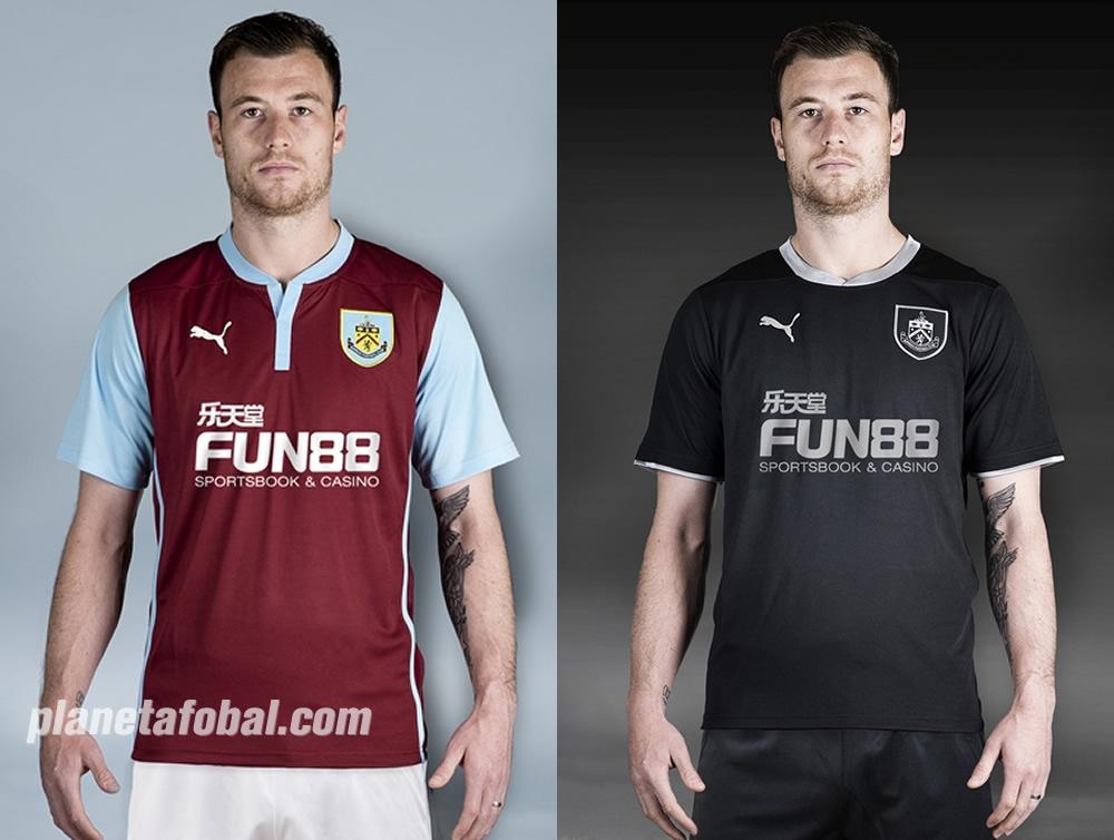 Burnley presentó sus nuevas camisetas para la Premier League | Imagenes web oficial