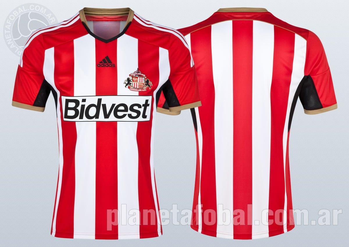 Así luce la nueva camiseta titular de Sunderland | Foto web oficial