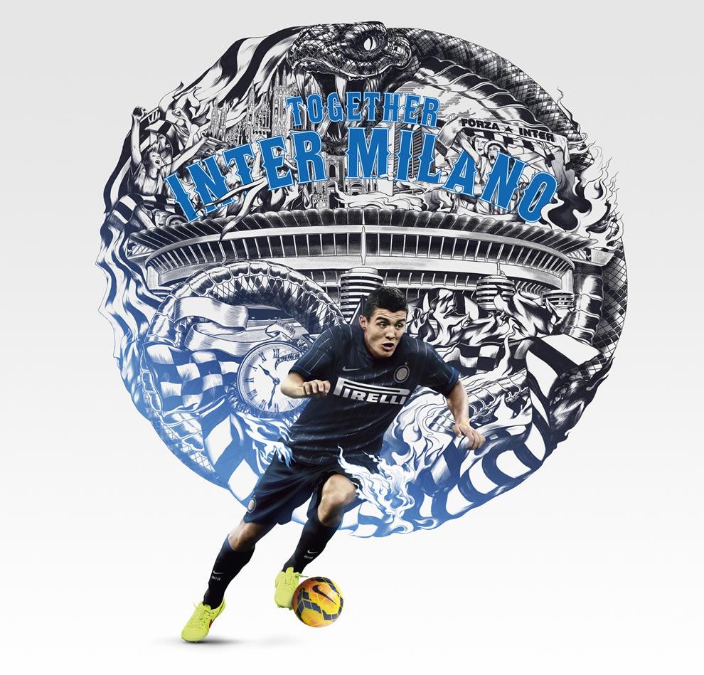 El croata Mateo Kovacic con la nueva indumentaria | Foto Nike