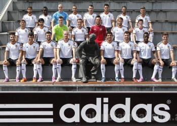 Valencia presentó su nueva camiseta en Herzogenaurach | Foto Adidas