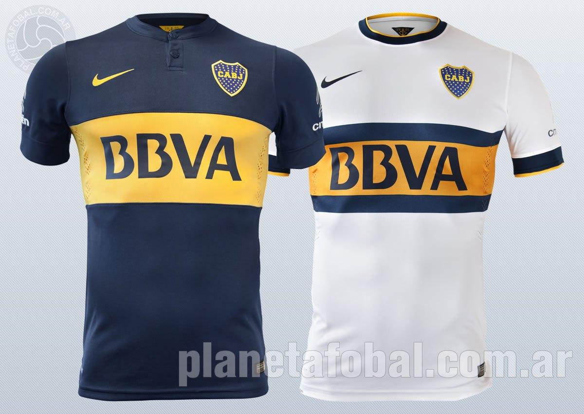 Así lucen las nuevas camisetas de Boca Juniors para 2014/2015   Foto Nike