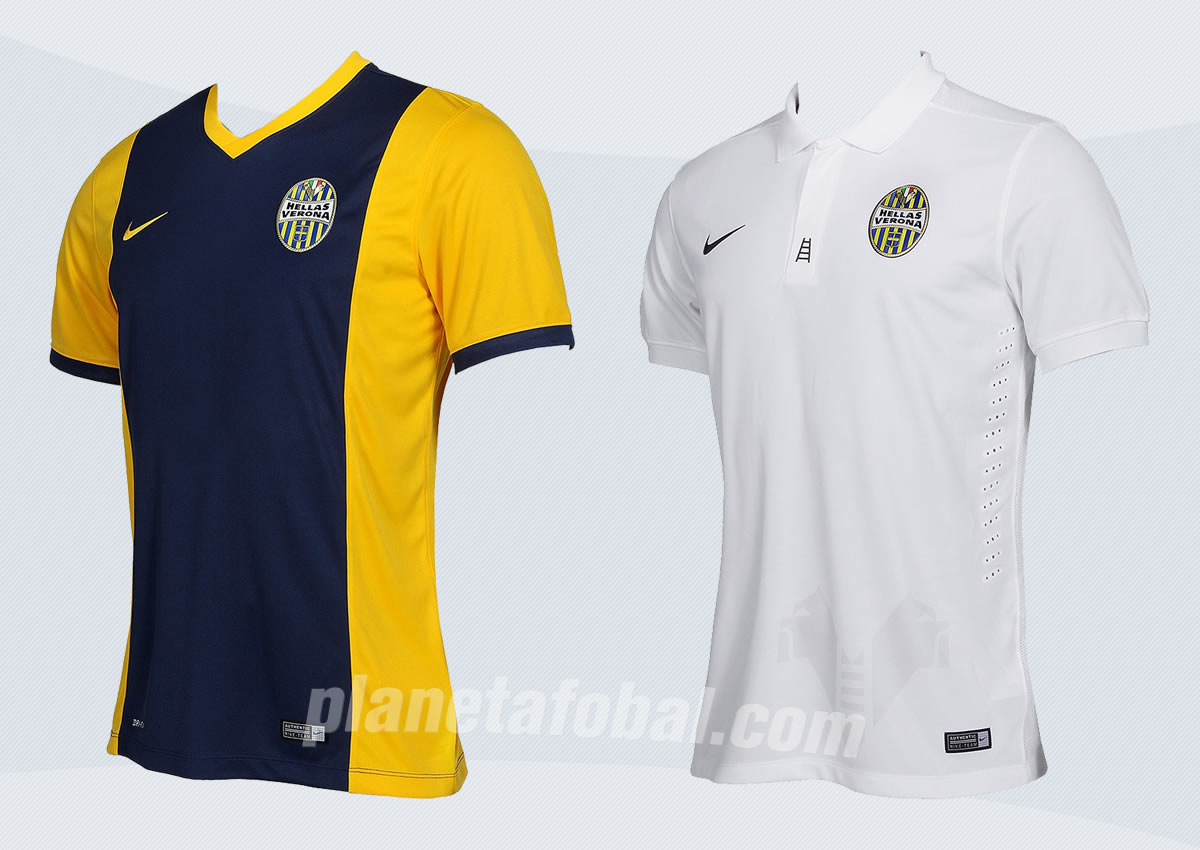 Así lucen las nuevas camisetas de Hellas Verona para 2014/2015 | Foto web oficial