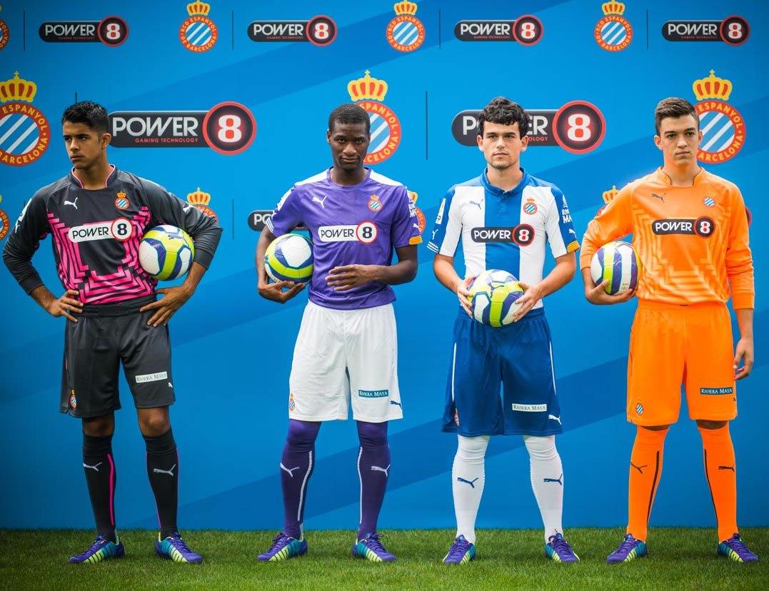 Así lucen las nuevas camisetas Puma del Espanyol | Foto web oficial