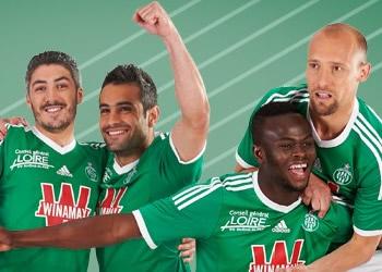 Camiseta titular de Saint-Étienne | Foto Web Oficial