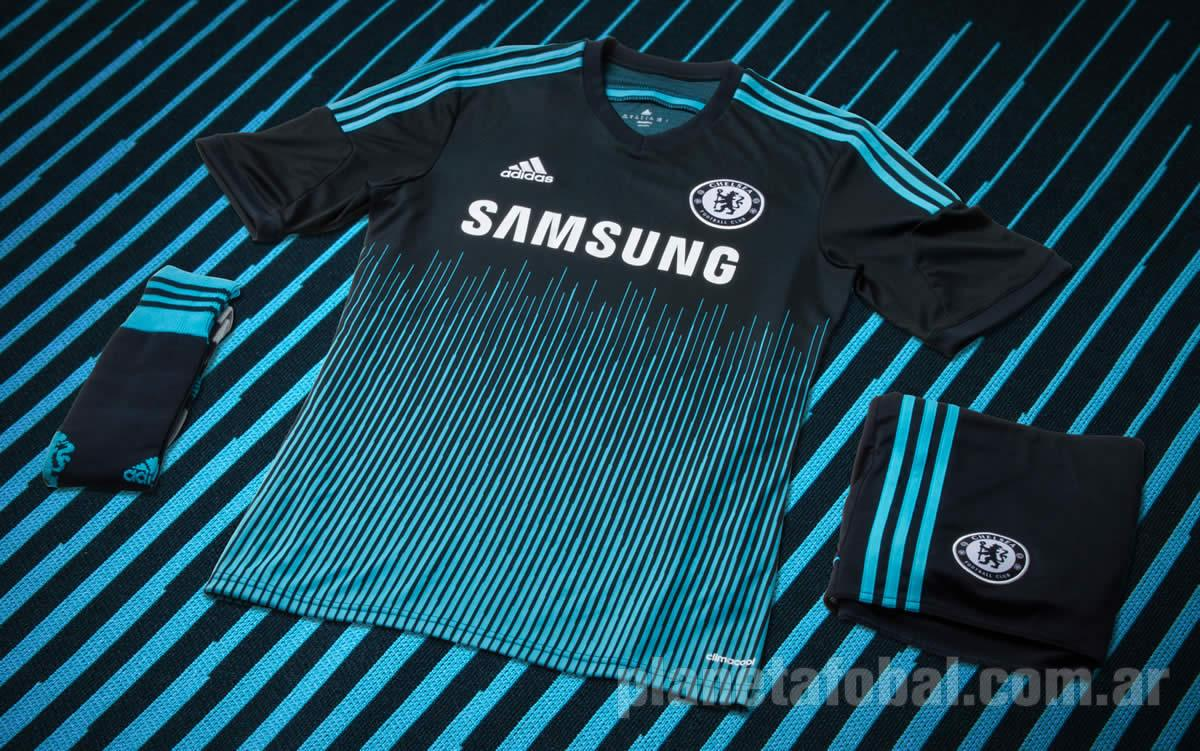 348e86031a862 Tercera camiseta Adidas del Chelsea 2014 15