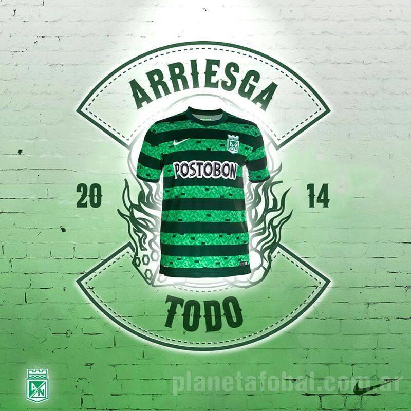 Así luce la tercera camiseta Nike de Atlético Nacional | Foto web oficial