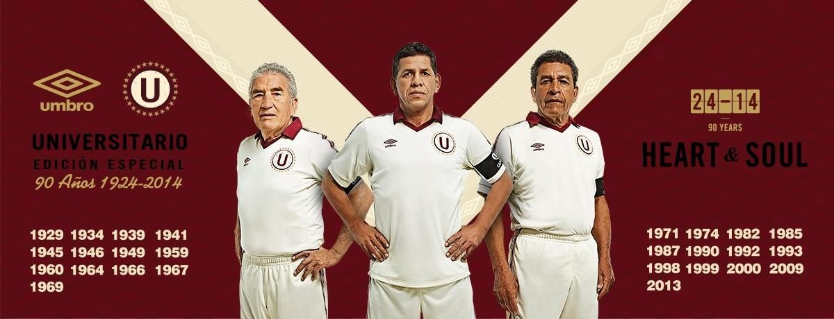 Camiseta 90 aniversario Universitario | Foto Umbro