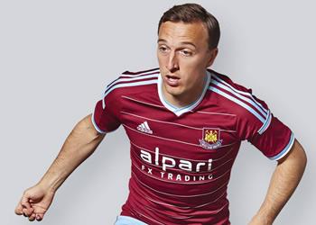 Nueva camiseta del West Ham | Imagen Web Oficial
