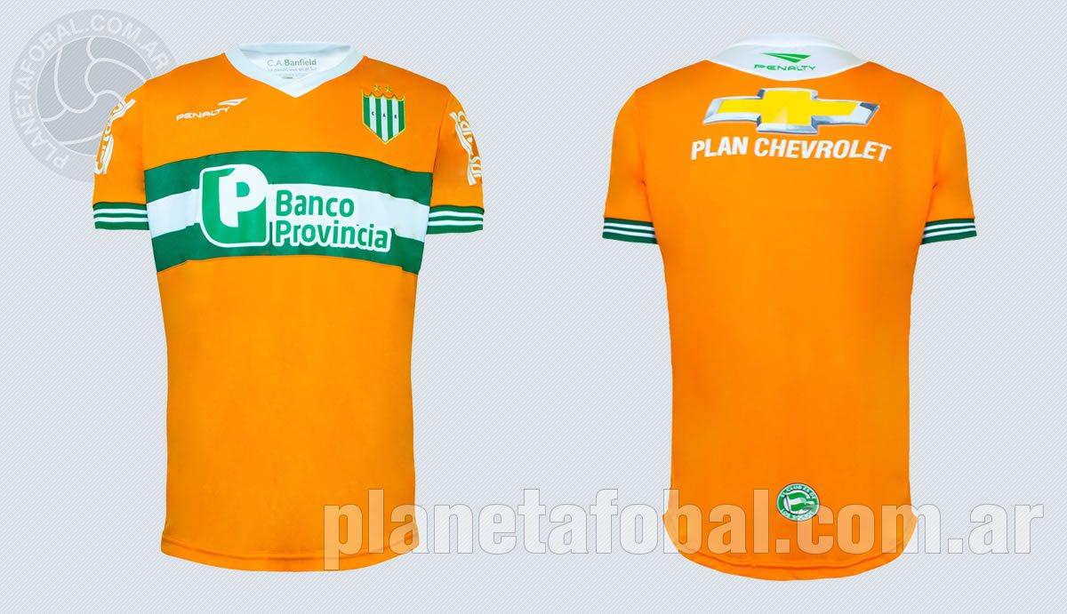 Nueva camiseta de Banfield | Foto Web Oficial