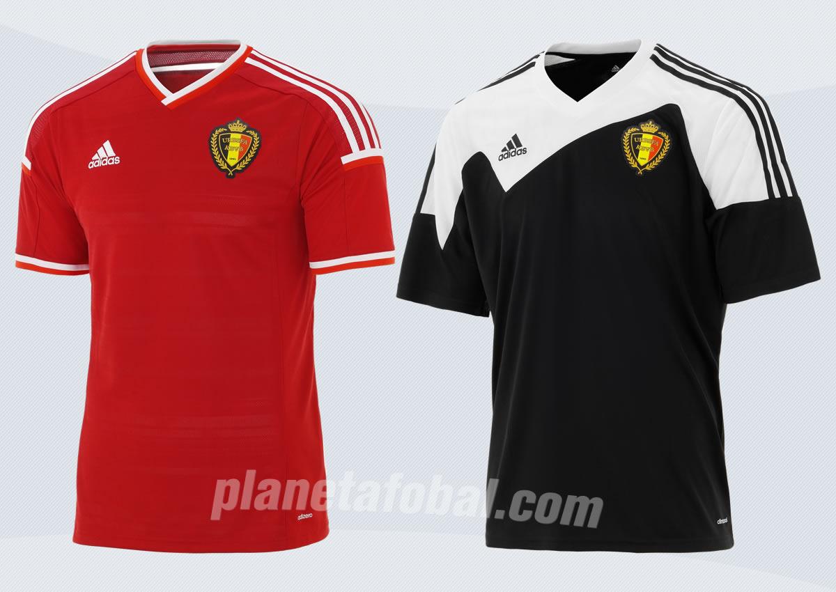 Las nuevas camisetas de Bélgica | Imágenes Facebook Oficial