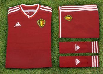 Camiseta titular de Bélgica | Foto Adidas