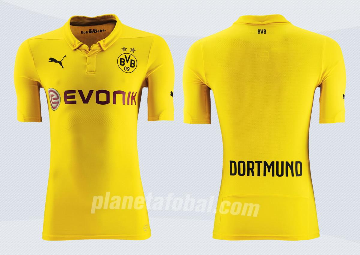 Camiseta Puma de BVB para la Champions | Imágenes Web Oficial
