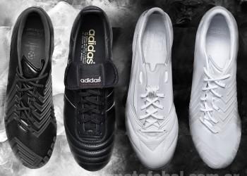 Adidas presentó sus botines edición especial Black/White | Foto Adidas