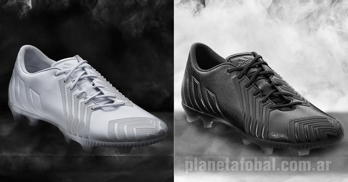reputable site 97e4c 59ff3 Botines Predator Instinct en su versión White Black   Foto Adidas