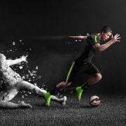 Cristiano Ronaldo luciendo el nuevo colorway de los Mercurial | Foto Nike