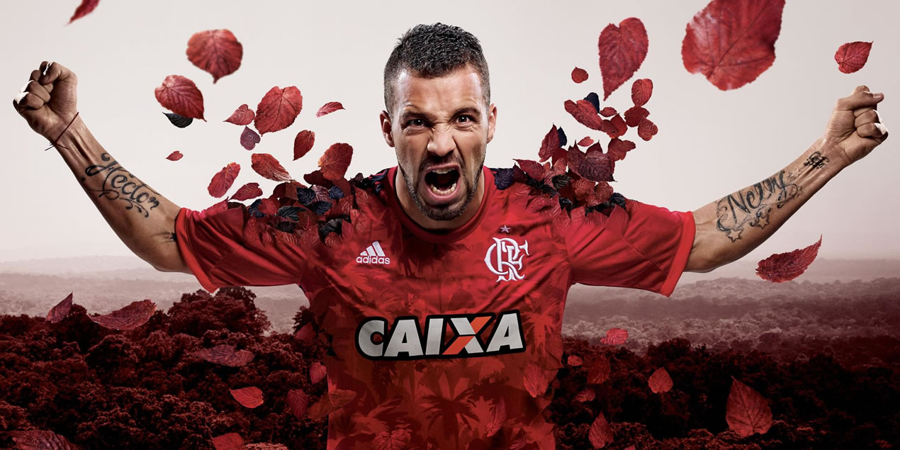 Tercera camiseta de Flamengo para 2014 | Foto Adidas