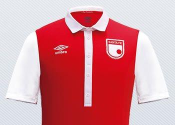 Camiseta Independiente Santa Fe por los 476 años de Bogotá | Imágenes Umbro