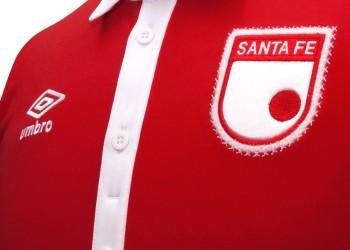 Camiseta Independiente Santa Fe por los 476 años de Bogotá | Foto Umbro