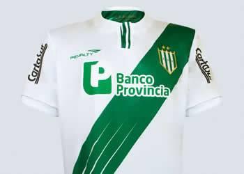 Nueva camiseta titular de Banfield | Foto Penalty