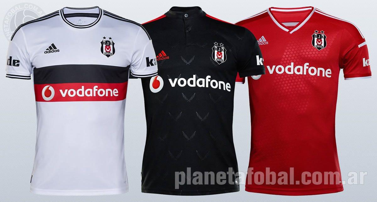 Nuevas camisetas del Besiktas de Turquía | Foto Adidas