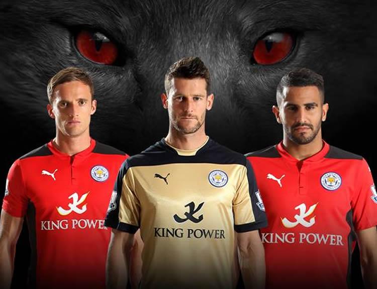 Camisetas alternativas Puma del Leicester | Foto Web Oficial
