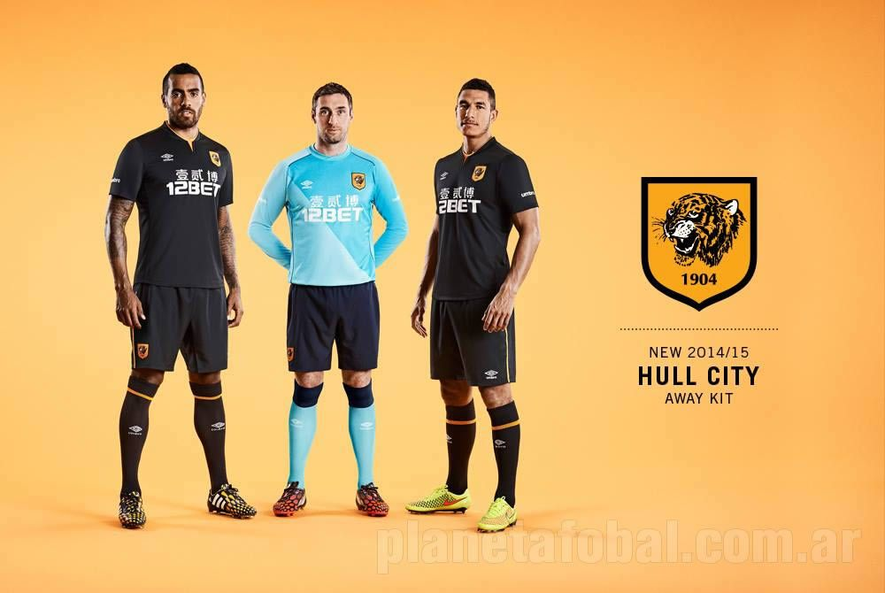 Camiseta suplente del Hull City | Foto Web Oficial
