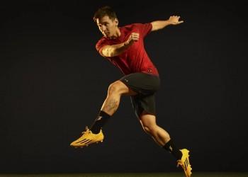 Messi con su botines F50 Adizero | Foto Adidas