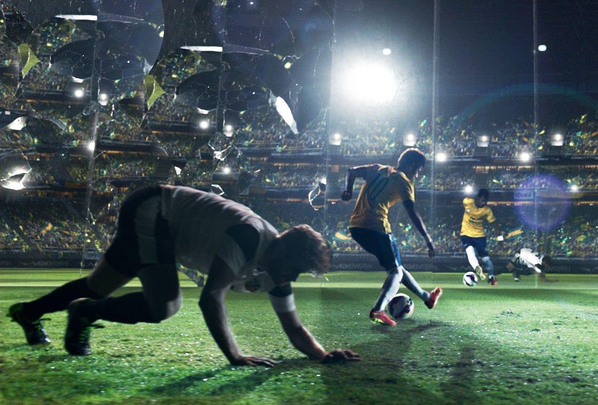 Neymar en lo nuevo de Nike