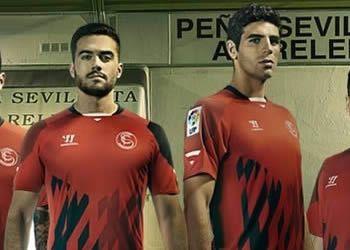 Así luce la camiseta europea del Sevilla para 2014/2015 | Foto Warrior