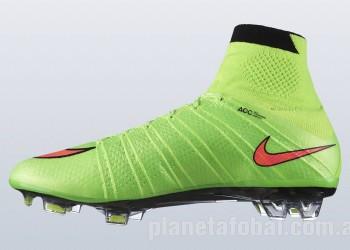 Los Mercurial Superfly IV pasan a mostrar un verde eléctrico esta temporada | Foto Nike